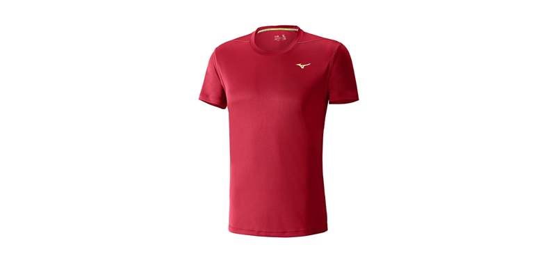Mizuno Essential Perfor Tee Chinese Red J2GA500862 S